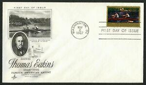 #1335 5c Thomas Eakins, Art Craft-Addressed FDC ANY 5=