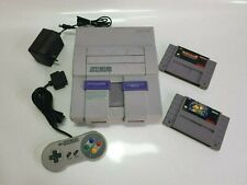 Super Nintendo Entertainment System SNS-001 Game Console USA/CAN