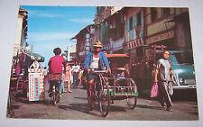 BUGIS STREET Postcard SINGAPORE