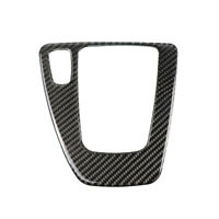 Carbon Fiber Gear Shift Control Panel Cover For BMW 3 series E90 E92 E93 05-12