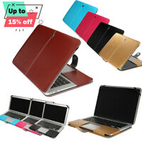 Leather Case Cover Laptop Protector For 15.4'' Apple Macbook Pro Retina 15 inch