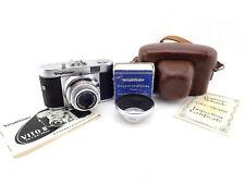 Voigtländer Vito B, Color Skopar 3,5/50mm Prontor-Svslens Hood 310/32