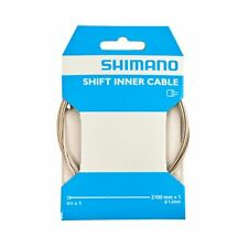 Genuine Shimano Gear Steel MTB/Road Shift Cable Inner Wire 1.2mm x 2100mm