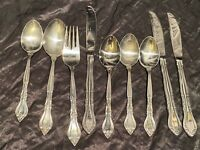 *Rogers Co. Stainless Korea  Flatware 8 Pc  Pieces