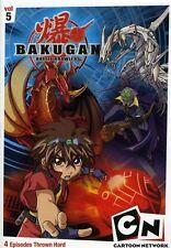 Bakugan, Vol. 5: The Game Is Real (2009, REGION 1 DVD New)
