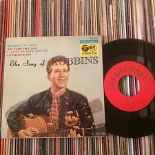 MARTY ROBBINS THE SONG OF ROBBINS JAPAN 7EP