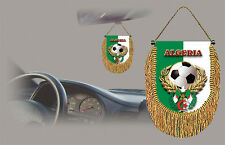 ALGERIA SOCCER FLAG CAR MINI BANNER, PENNANT