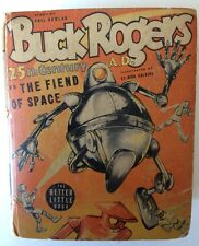 BUCK ROGERS vs The Fiend of Space, BLB, 1940, Whitman