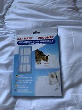 PET MATE CAT DOG WATER FOUNTAIN REPLACEMENT FILTER CARTRIDGES 6 PACK