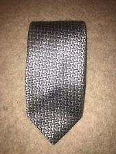 Men's FERRE Cravatta, grigio e argento, usato