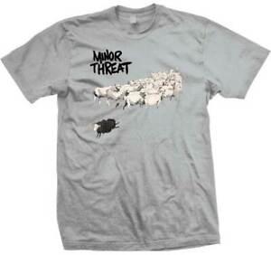 Minor Threat Still Out of Step Punk Rock Hardcore Music Band T Shirt MT25025