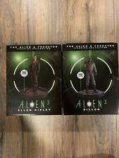 Eaglemoss Alien 3 Lot: Ellen Ripley And Dillion. Alien Predator Figurine