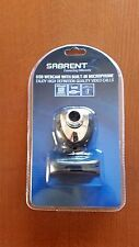 Sabrent USB 2.0 Color Webcam Web Camera with Built-In Microphone, Model SBT-WCCK