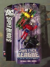 DC SUPERHEROES/JLU MR.MIRACLE/ORION/DARKSEID SET-APOKOLIPS Nice DARKSEID MISP