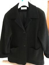 forecaster of boston wool coat Ladies 6 Flecked Gray & Black