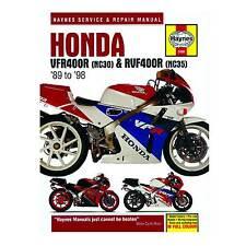 Honda Vfr 400 Nc30 & RVF400 Nc45 Haynes Manual De Taller De Servicio Y Reparación De Libro