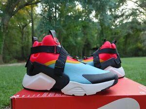 NIB Womens NIKE HUARACHE CITY sneakers AH6787 400 size 14