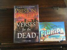 VERSES FOR THE DEAD, Preston & Child, SIGNED 2x, 1st/1st print 2018 HCDJ
