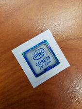 INTEL CORE i5 7th Gen CPU STICKER DECAL COMPUTER PC CASE BADGE