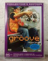 Groove DVD 2000 RAVE DJ MOVIE - Greg Harrison Cult Classic - REGION 4