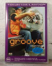 Groove - DVD - 2000 RARE RAVE DJ MOVIE - Greg Harrison Cult Classic - REGION 4