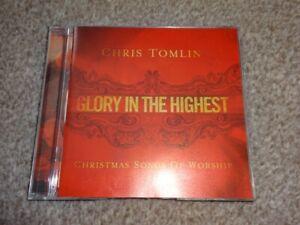 CD ALBUM - CHRIS TOMLIN - GLORY IN THE HIGHEST - CHRISTMAS SONGS OF WORSHIP