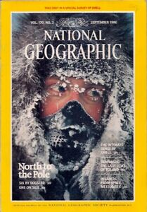 national geographic-SEPT 1986-NORTH POLE.