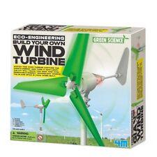 Neu Green Science Baue deine eigene Wind Turbine Baukasten Experimentierkästen!