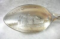 Sterling Silver Souvenir Spoon Texas, Colorado Chautauqua Boulder County ca 1900