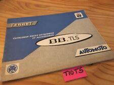 Terrot Automoto BB TLS  50-15-SU  catalogue pièces détachées cyclomoteur