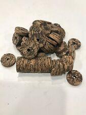 "Cork Rings 36 Cactus Burl ll  , 1 1/4"" x 1/4"" x 1/4"" Hole,"