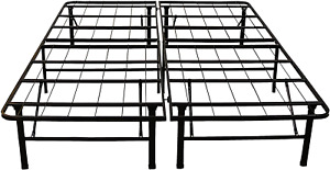 Hercules Heavy Duty Platform Metal Steel Bed Frame Mattress Foundation All Size