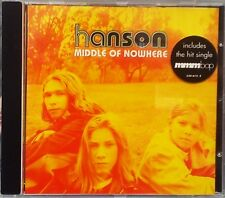 """Hanson - Middle of Nowhere (CD 1997) Features """"MMMBop"""" """"Where's The Love"""""""