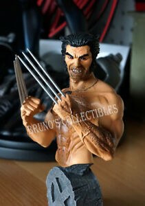 Tower Records Exclusive Wolverine Logan Bust Marvel Universe Statue
