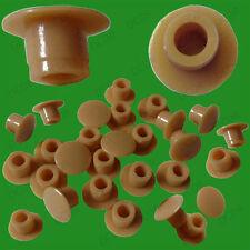 50x couverture Caps pour Ø 5mm blind trou armoire, armoire, placard de cuisine