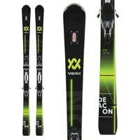 161cm SALOMON Siam Origins Women's Skis w Z10 Ti Adjustable Bindings