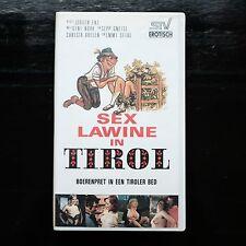SEX LAWINE IN TIROL - VHS