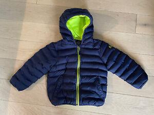 NEXT Winter Warm Jacket Blue Boy Toddler Kid Size 3-4 yrs Eur 104