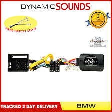 Eonon Joying Car Stereo Stalk Control Adaptor for BMW 1 3 5 6 7 Series Mini Z4