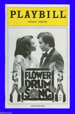 Playbill + Flower Drum Song + Lea Salonga , Sandra Allen , Randall Duk Kim