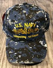 USS Lapon SSN-661 Ball Cap Embroidered Submarine Dolphins Veteran Navy Vet Hat