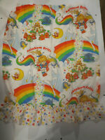 Rainbow Brite Curtain Set Including 4 Panels and 2 Valances