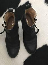 Acne Studios Pistol Boots in Matte Black size 37