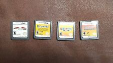 Nintendo DS Games Cartridges Assorted Lot Of (4) Clean Untested