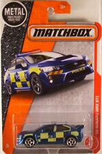 MATCHBOX #60 '15 Subaru WRX STi Police, 2017 issue (NEW in BLISTER)