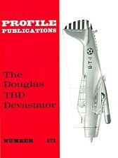 DOUGLAS TBD DEVASTATOR: PROFILE PUBLICATIONS No.171/ NEW PRINT FACSIMILE EDITION