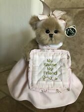 "Bearington Bears BEARY SPECIAL SISTER #171114 2007 Plush 10"" Special Sister🐻NWT"