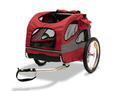Happy Ride Steel Pet Bicycle Trailer, Medium Stroller Carrier Wagon Cat or Dog