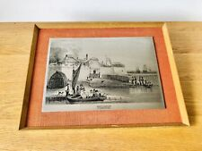 Vintage Omicways Hand Produced Stainless Steel Picture, Tilbury