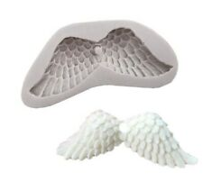 Wing Silicone Icing Mould Baking Cup Cake Topping Sugar Paste Craft Fondant